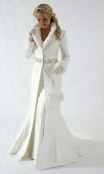 xmas wedding dress